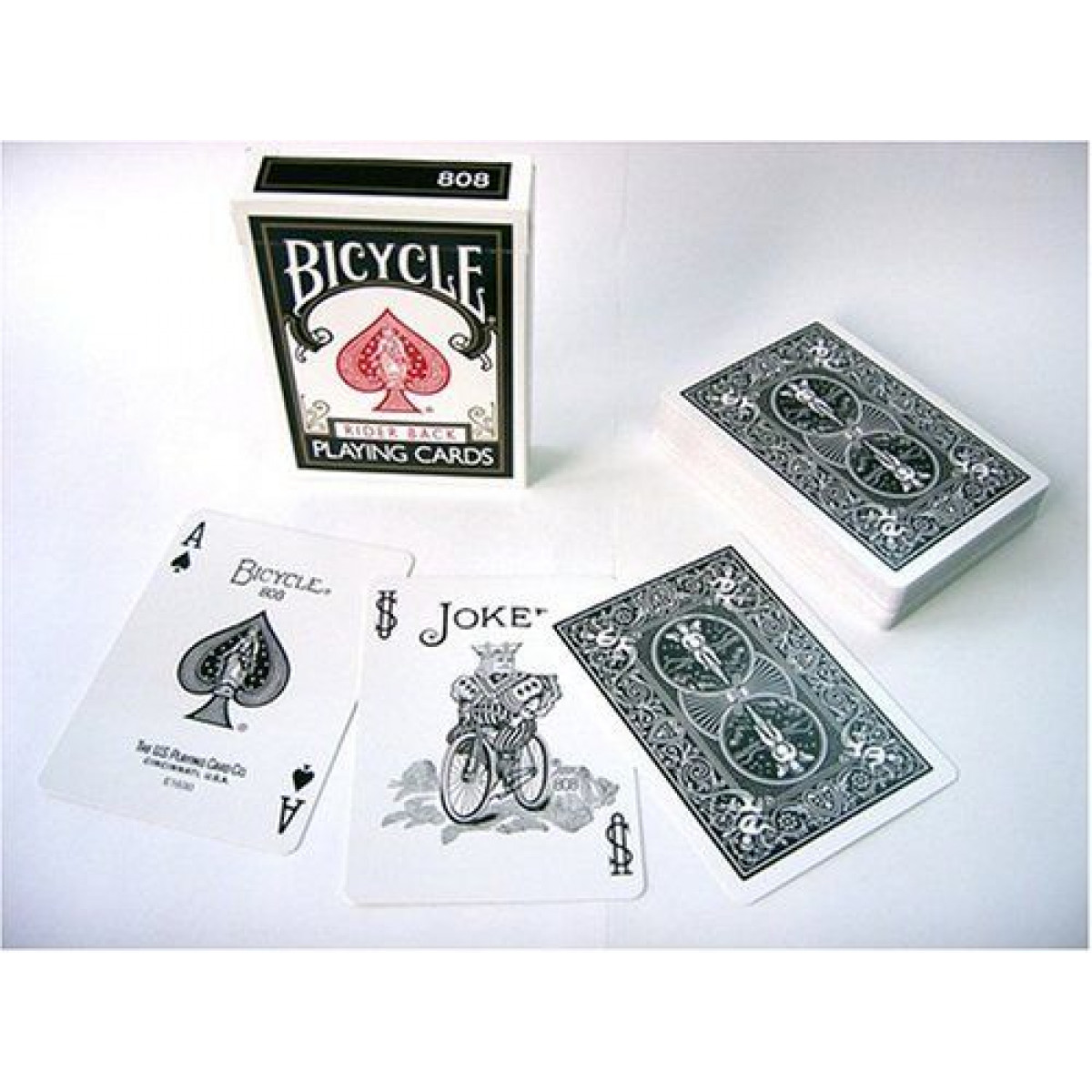Blu-Rosso 2 mazzi Carte Bicycle Standard Index