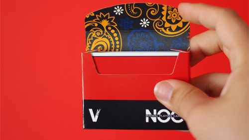 Dapper NOC Playing Cards (Maroon)