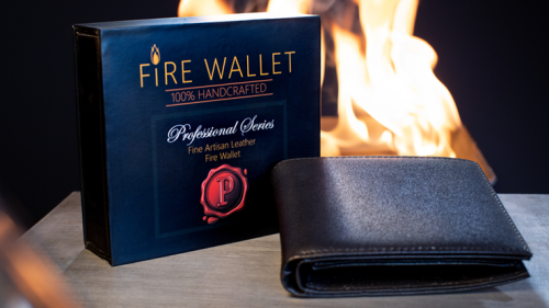 The Professional's Fire Wallet (Gimmick and Online Instructions) by Murphy's Magic Supplies Inc