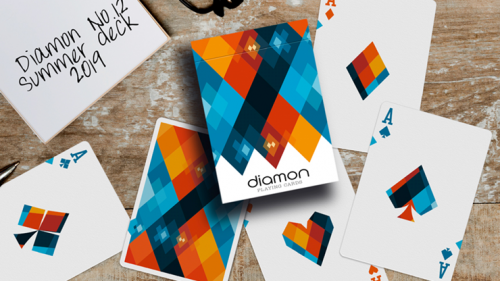 Diamon Playing Cards N° 12 by Dutch Card House Company