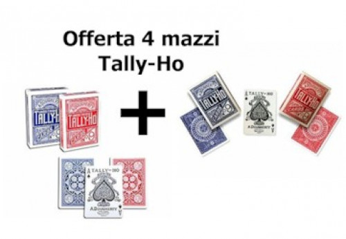 4 Mazzi Tally-Ho (2 Circle + 2 Fan)
