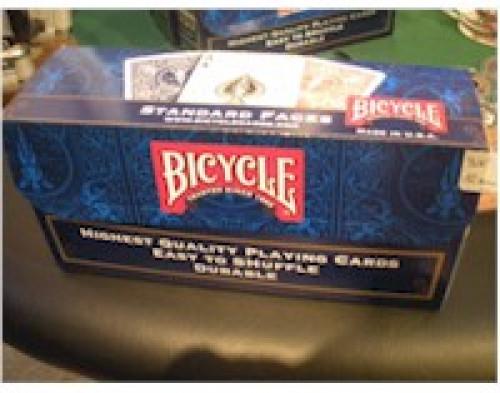 Scatola Bicycle 12 mazzi vuota