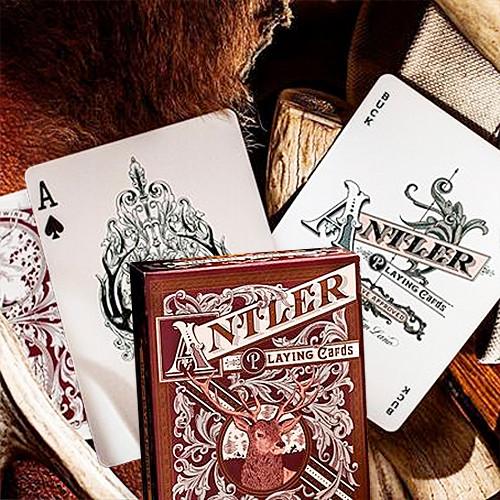 Antler by Dan & Dave - Deep maroon
