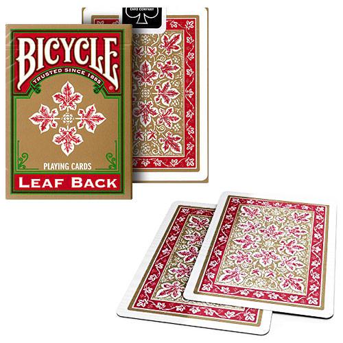 Bicycle - Leaf Back - Red