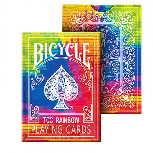 Bicycle - TCC Rainbow Playing Cards