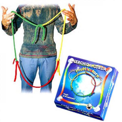 Cerchio di corda multicolore - VDF