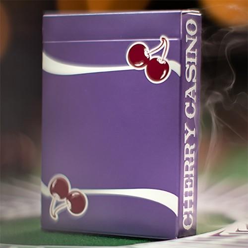 Cherry Casino Fremonts (Desert Inn Purple) Playing Cards