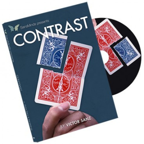 Contrast (DVD e Gimmick) by Victor Sanz and SansMinds