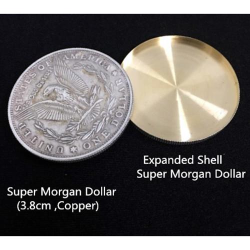 Expanded Shell Super Morgan Dollar