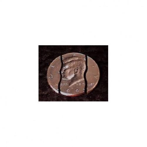 Folding Coin + Bite Coin - Mezzo Dollaro