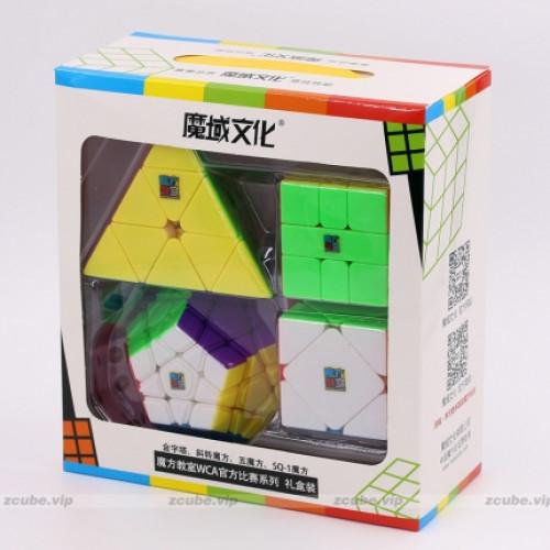 Moyu cube set - Pyraminx Skewb Megaminx SQ1