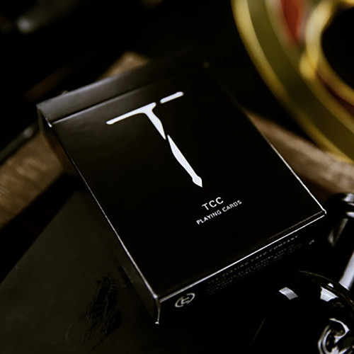 New T Playing Cards - Black or Red