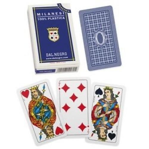 Carte MILANESI S n.45S in Plastica Dal Negro - 015011