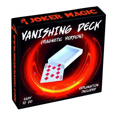 Vanishing Deck (Magnetic) by Joker Magic
