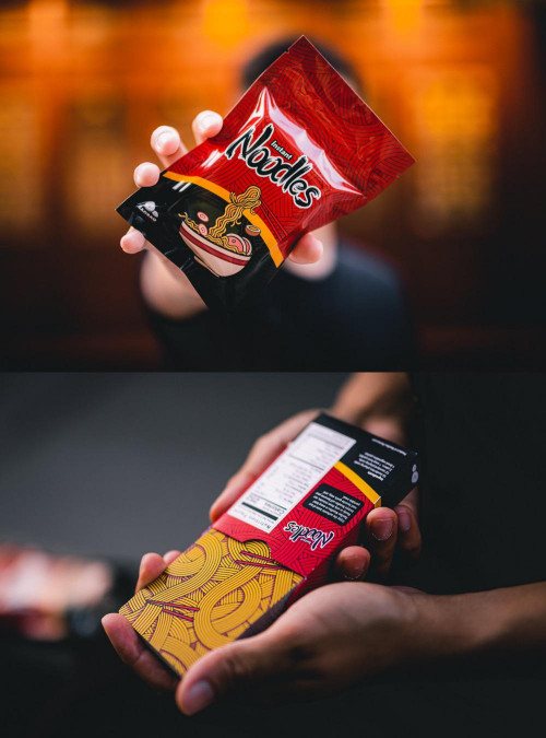 Instant Noodles Playing Cards By BaoBao Restaurant