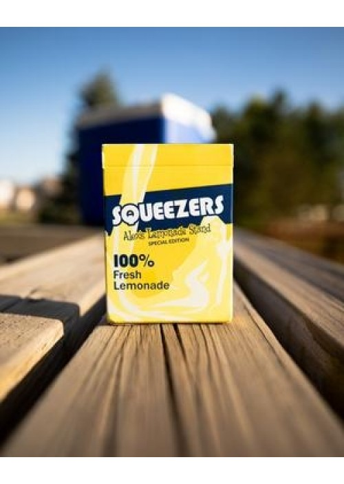 Squeezers Fresh Lemonade Playing Cards