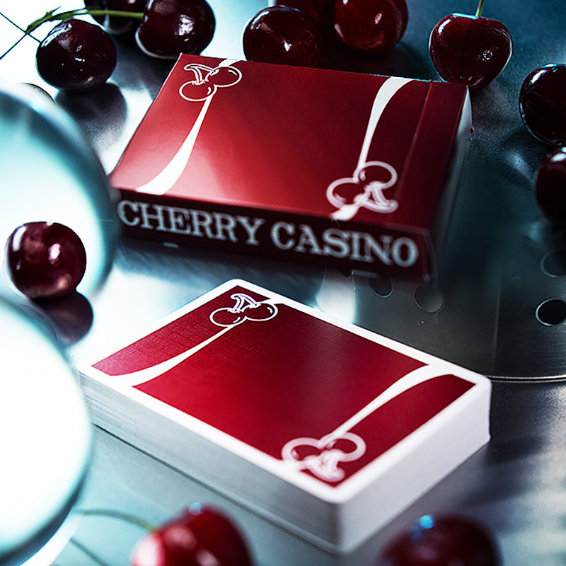 cherry casino red playing cards